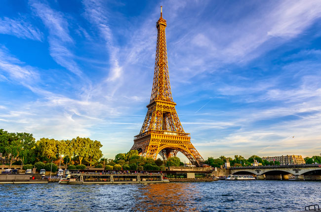 The Eiffel Tower is the most iconic landmark of Paris.