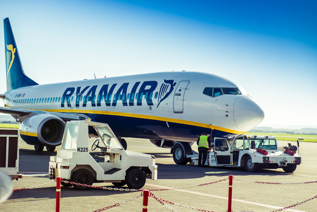 Ryanair is one of the major low-cost carriers serving Beauvais Airport.